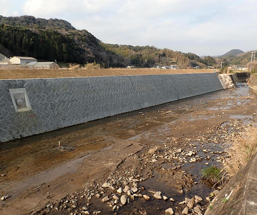 H27  二級河川鯉名川(護岸工)