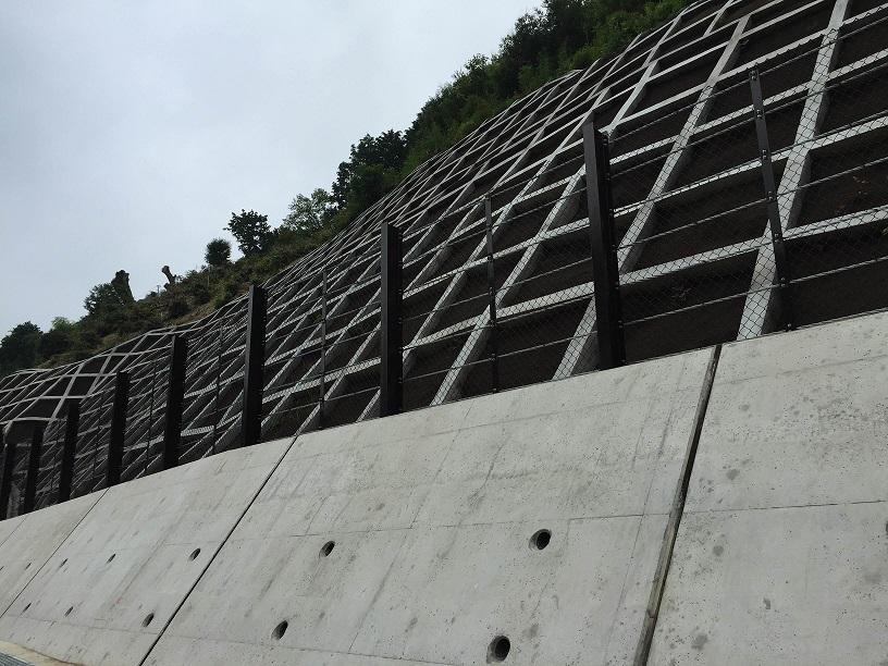 H26 前根原局地豪雨対策事業 (急傾斜)工事