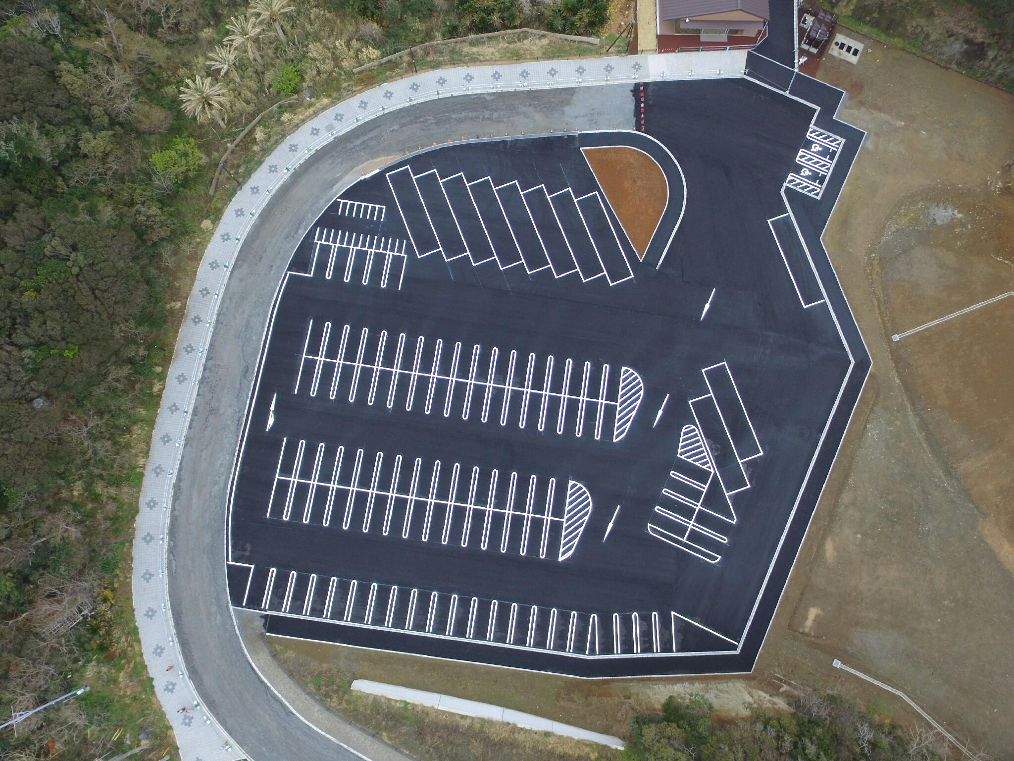 石廊崎オーシャンパーク駐車場整備工事