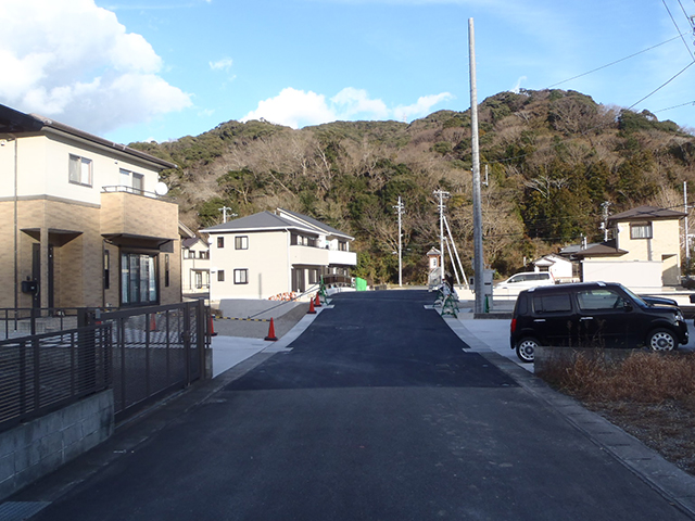 H26二級河川鯉名川(取合道路工)